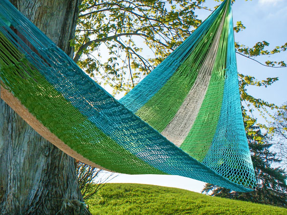 fair trade hammock for spring
