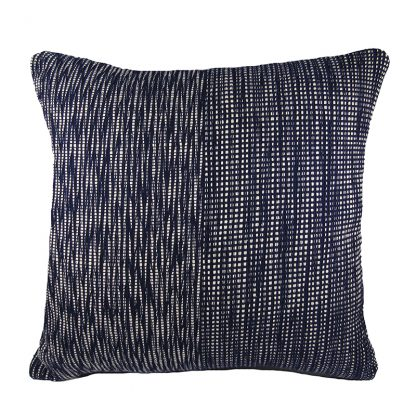 Fair Trade cushion - Lahu Brigth woven cushion cover -Front