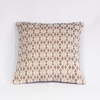 hill tribe cushion gray