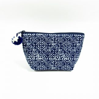 fair trade printed pouch hmong batik