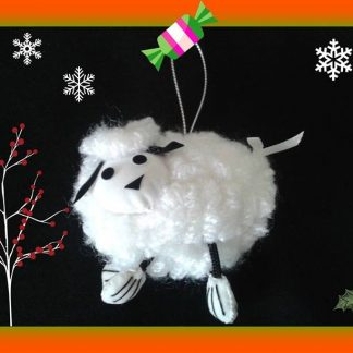 Fair Frade Christmas ornament Lamb